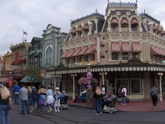 Main Street USA Secrets - Window Height