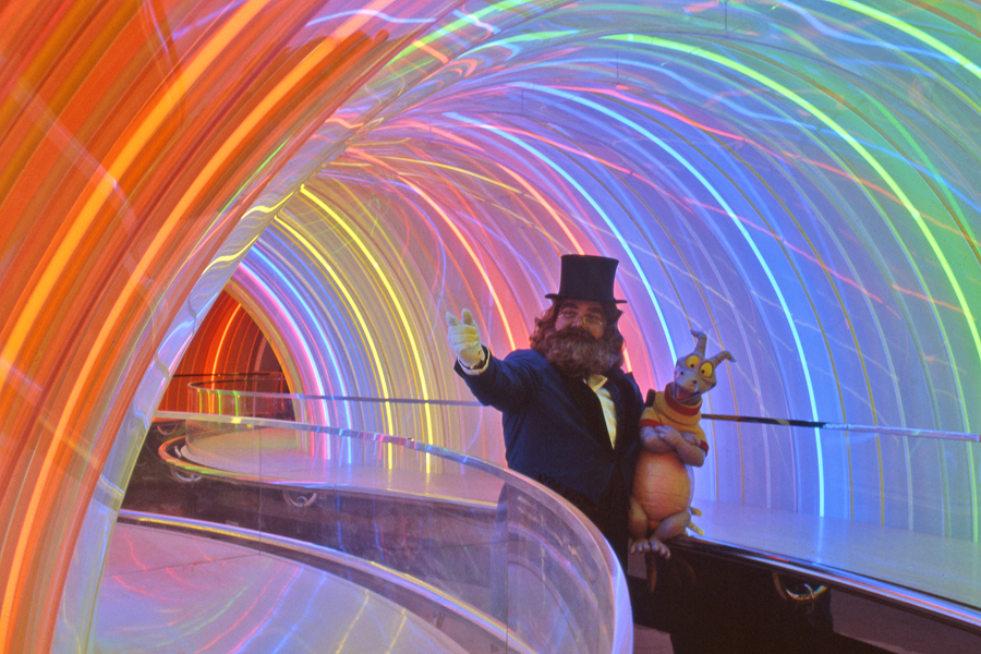 The History of the Rainbow Tunnel at Disney's Imagination Pavillion | The Mouselets