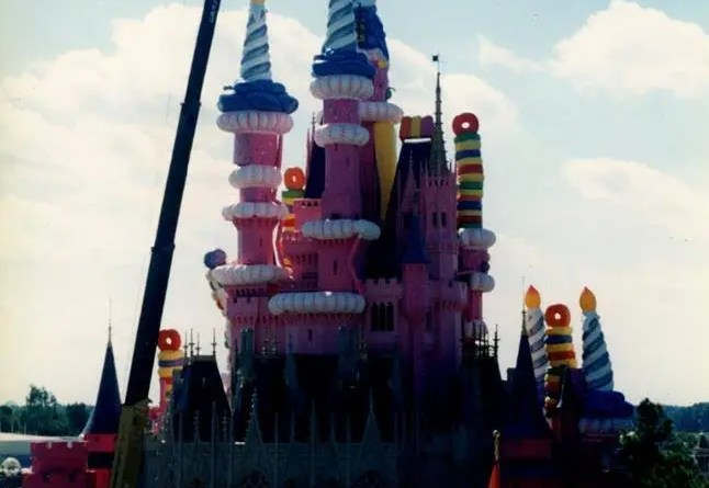 Birthday Cake Castle