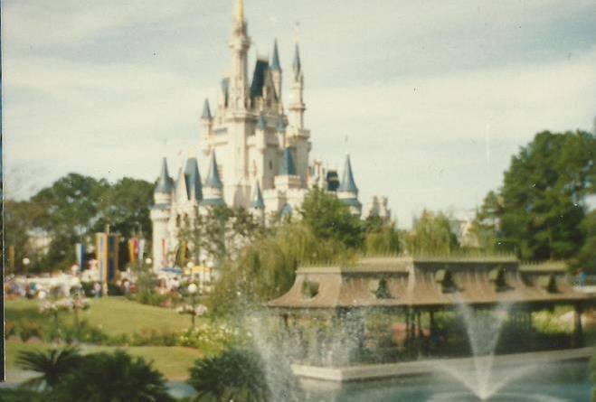 Vintage castle