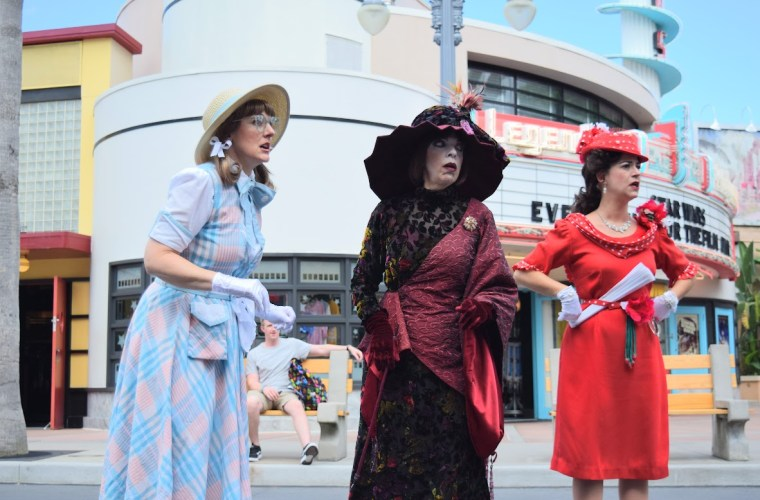 Betty Shambles, Dorma Nesmond, Flora Fiera, Citizens of Hollywood