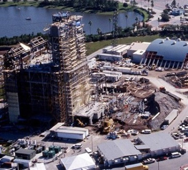 Tower of Terror Aerial View