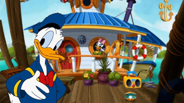 Donald Duck Sunken Yacht Patent