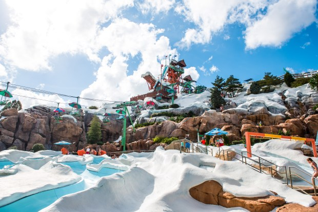 Blizzard Beach Backstory