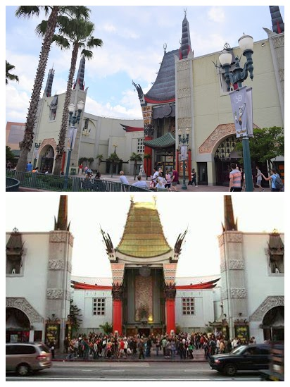 Grauman's Chinese Theatre Hollywood Studios Comparision