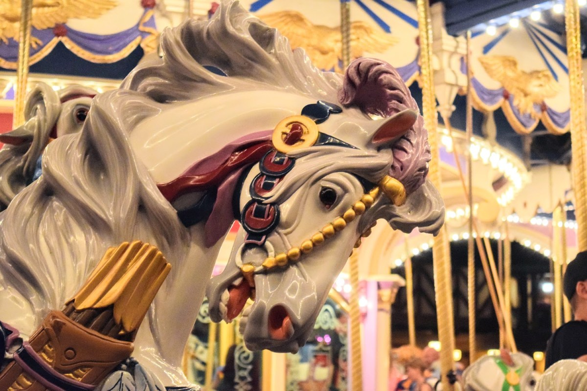 Prince Charming Carousel Horse