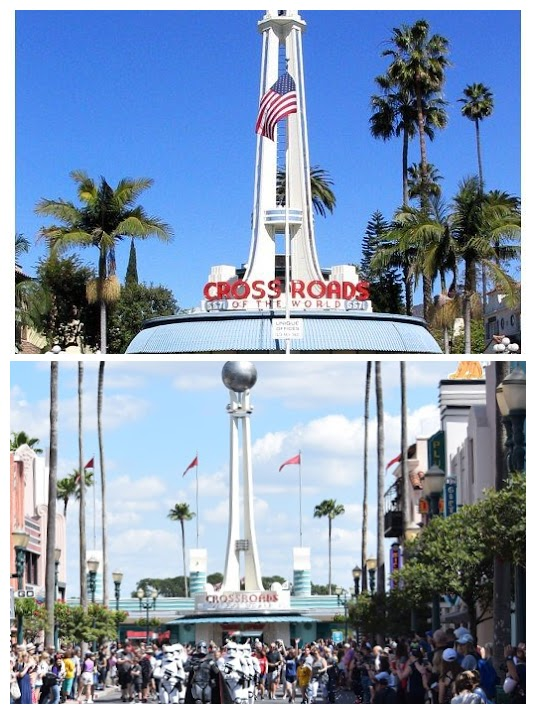 crossroads of the world Hollywood Studios