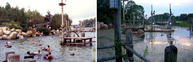Abandoned River Country Before and After