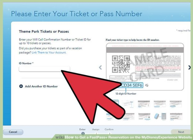 How to load your discount ticket onto My Disney Experience