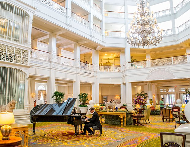 Disney Grand Floridian Lobby
