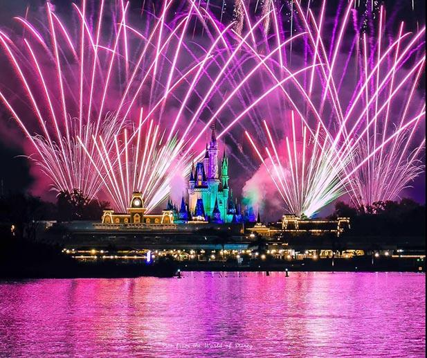 Fireworks Polynesian Resort