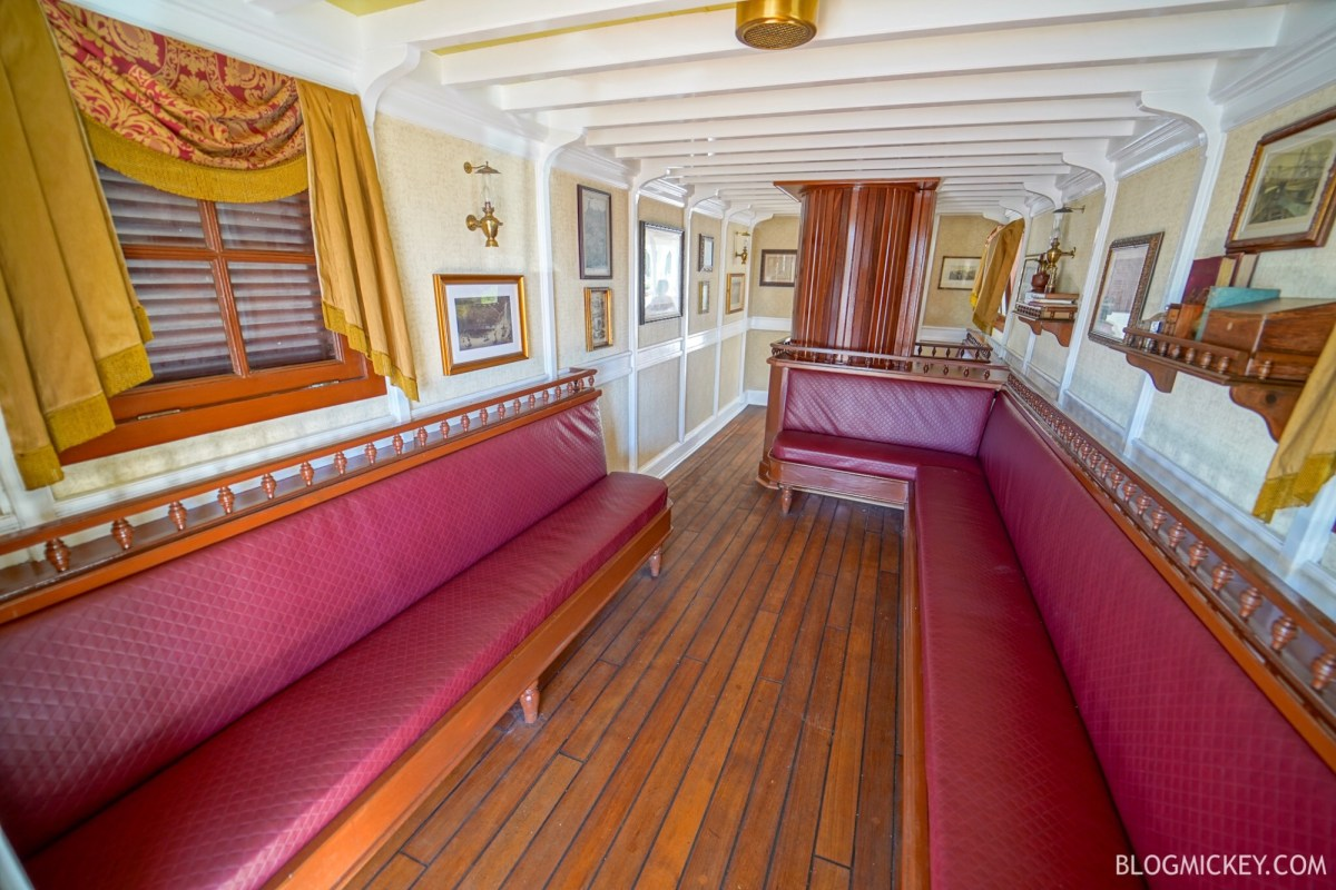 Liberty Square Riverboat Secret Room