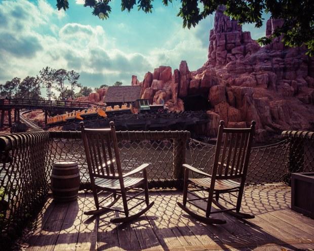 Rocking Chairs at Tom Sawyers Island