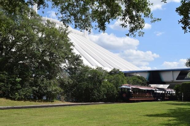 Walkway Between Tomorrowland and Storybook Circus