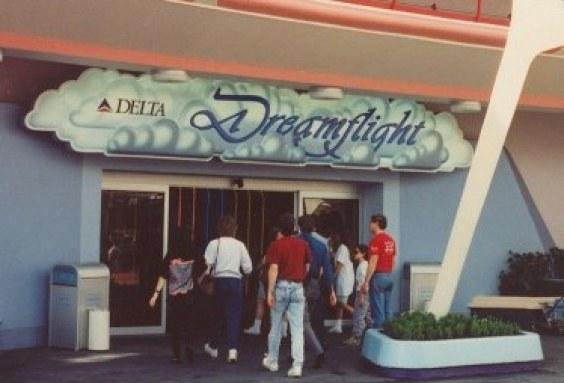 Delta Dreamflight Sign Magic Kingdom