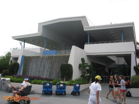 Former Tomorrowland Skyway Building