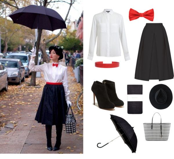 Mary Poppins Halloween costume idea