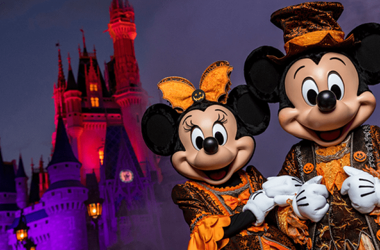 Mickey's Not So Scary Halloween Party Costume Ideas for Rain