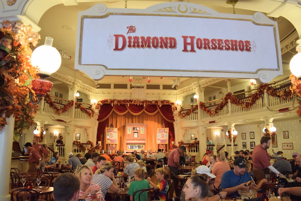 Diamond Horseshoe Revue Seating