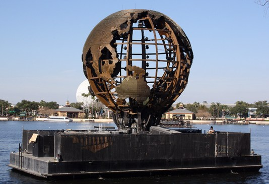 IllumiNations Globe in the daytime