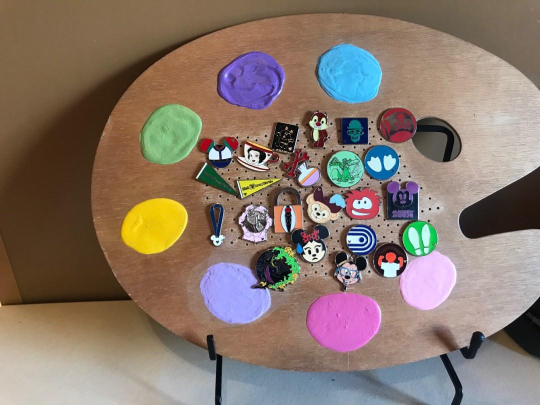 Pin Board Artists Palette
