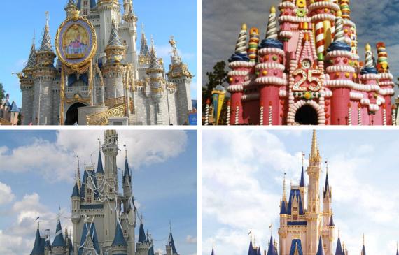 Cinderella Castle 2020 makeover
