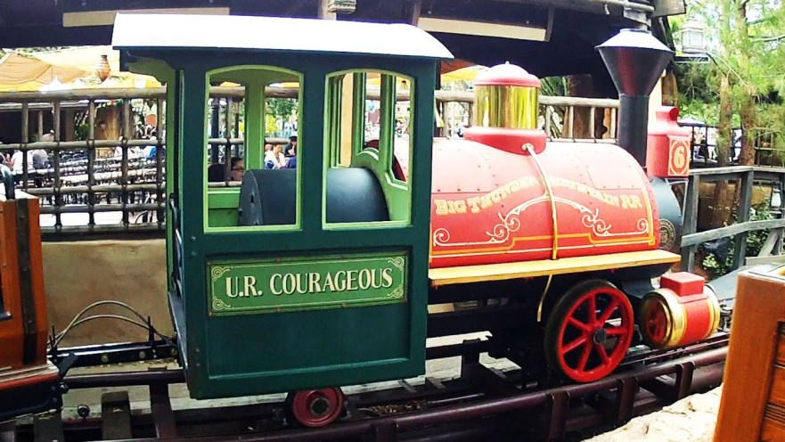 U.R. Courageous Train Disney