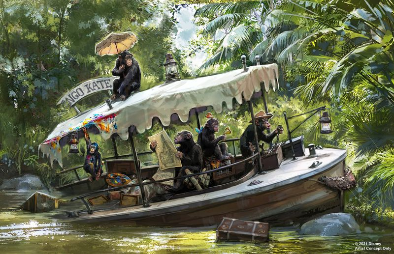 """Featured image for """"Jungle Cruise is the Next Attraction to be Enhanced"""""""