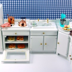 Kitchen Miniature Waffle Weave Towels Dollhouse Furniture The Mouse Market Blog From
