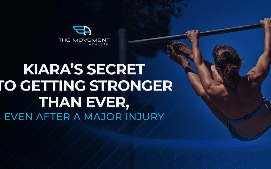 Kiara's secret to getting stronger than ever, even after a major injury