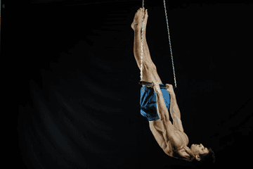Lower Down to Full Front Lever