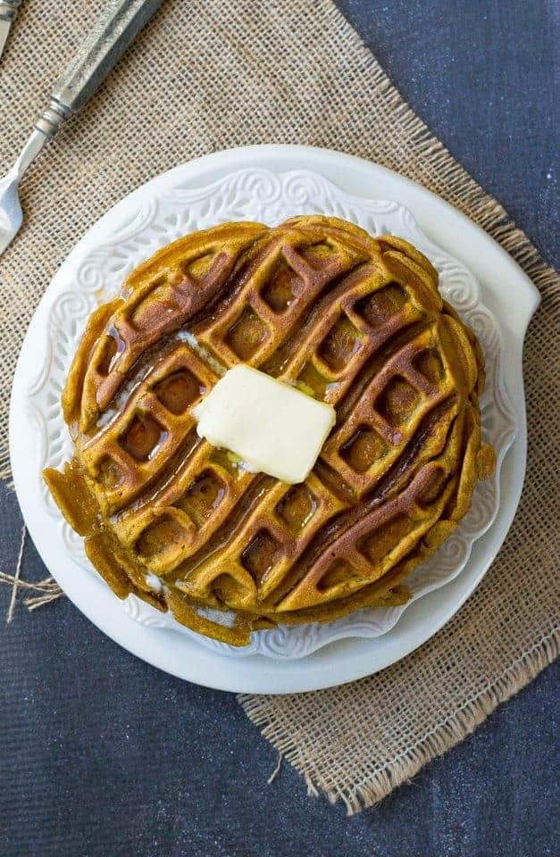The Movement Menu - Pumpkin Waffle Cakes