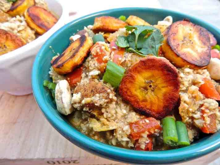 Jerk Chicken and Cauliflower Rice Bowls