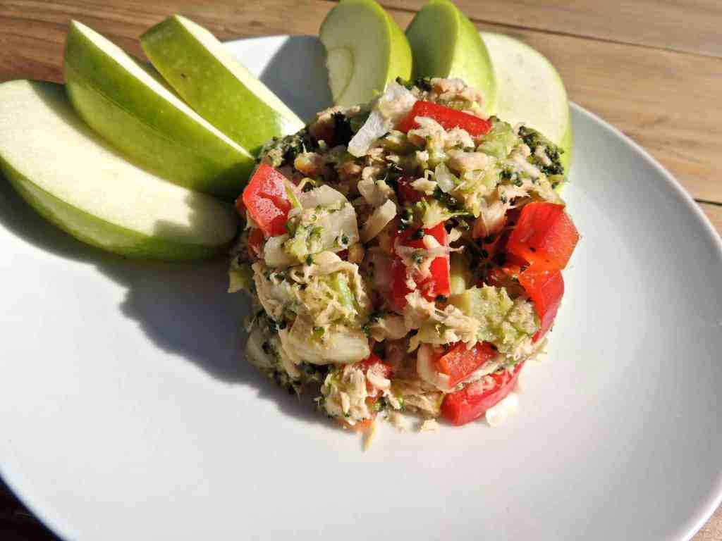 Nutritious and Delicious Salmon and Tuna Salad