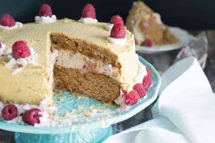 The Movement Menu - Layered & Creamy Raspberry Cake