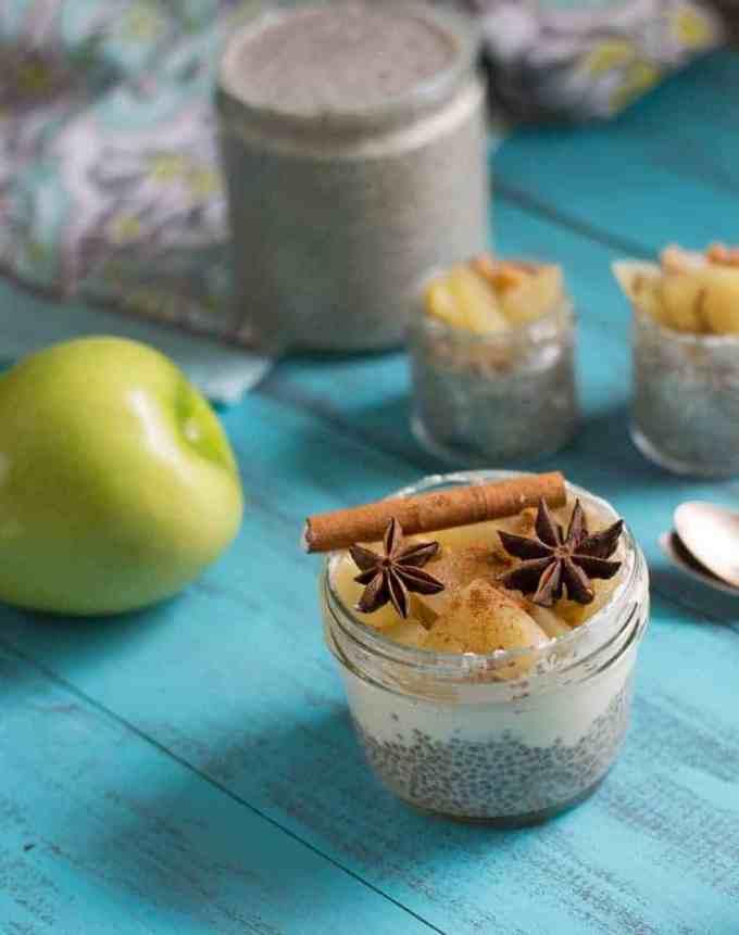 The Movement Menu - Apple Cinnamon Chia Seed Pudding