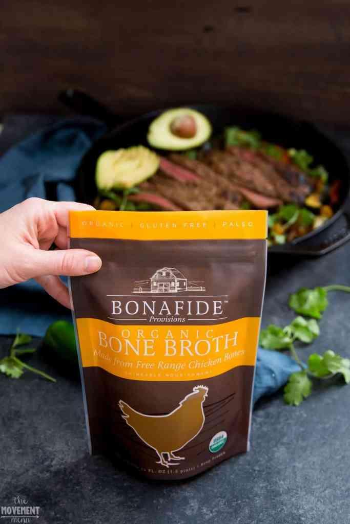bonafide provisions chicken bone broth bag