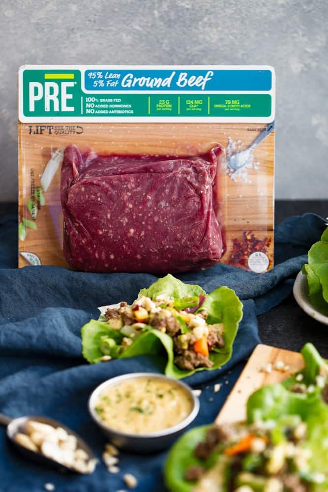 Easy Whole30 Lettuce Wraps