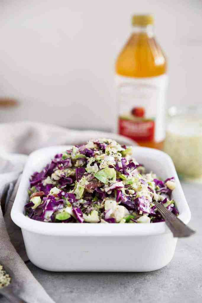 Whole30 Brussels Sprout Slaw recipe