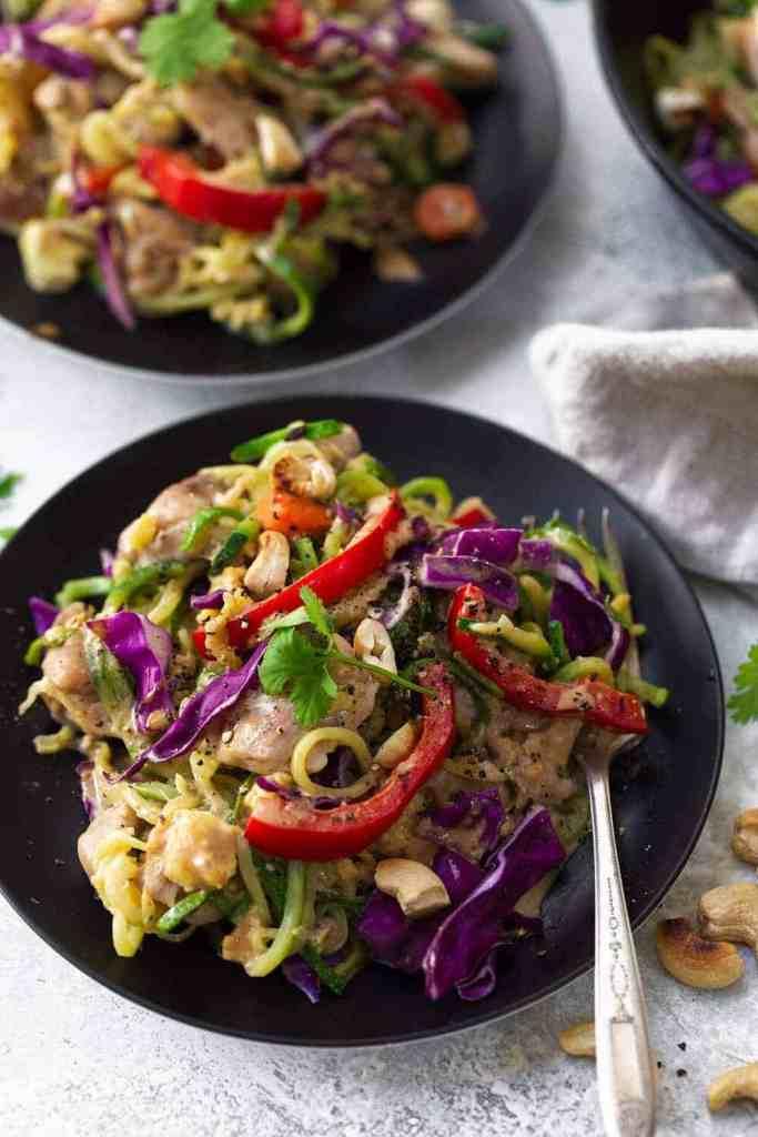 Whole30 Chicken Pad Thai recipe