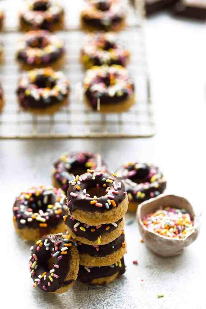 Mini Paleo Donuts