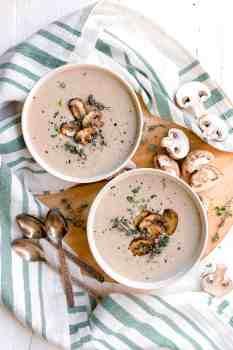 Dairy Free Cream of Mushroom Soup 2