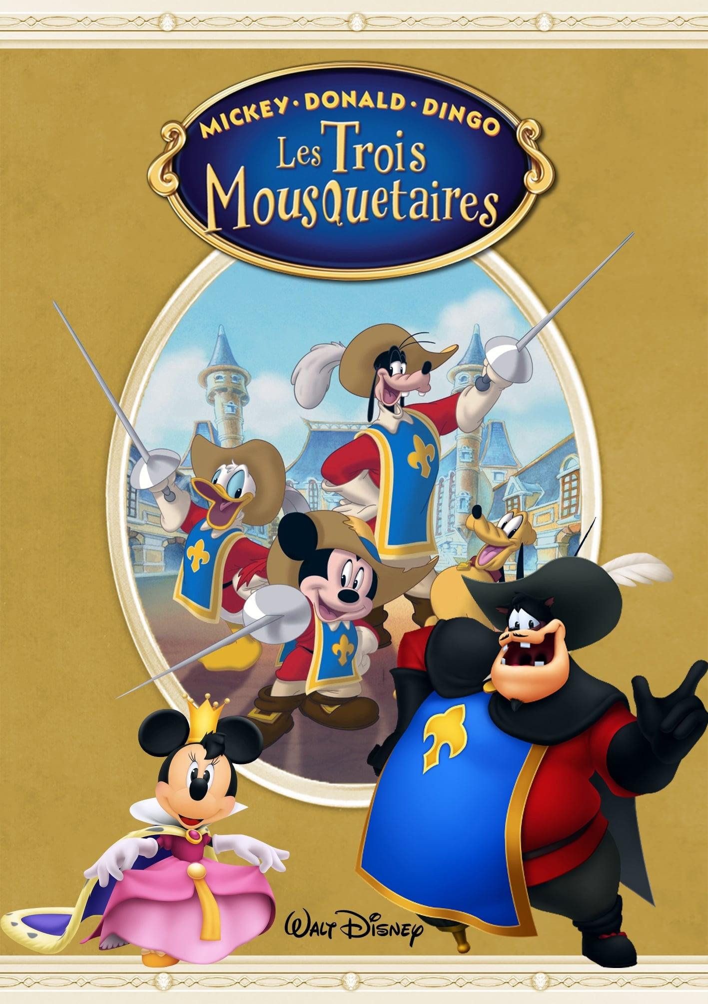 Mickey, Donald, Dingo : Les Trois Mousquetaires : mickey,, donald,, dingo, trois, mousquetaires, Mickey,, Donald,, Dingo, Trois, Mousquetaires, (2004), Affiches, Movie, Database, (TMDb)