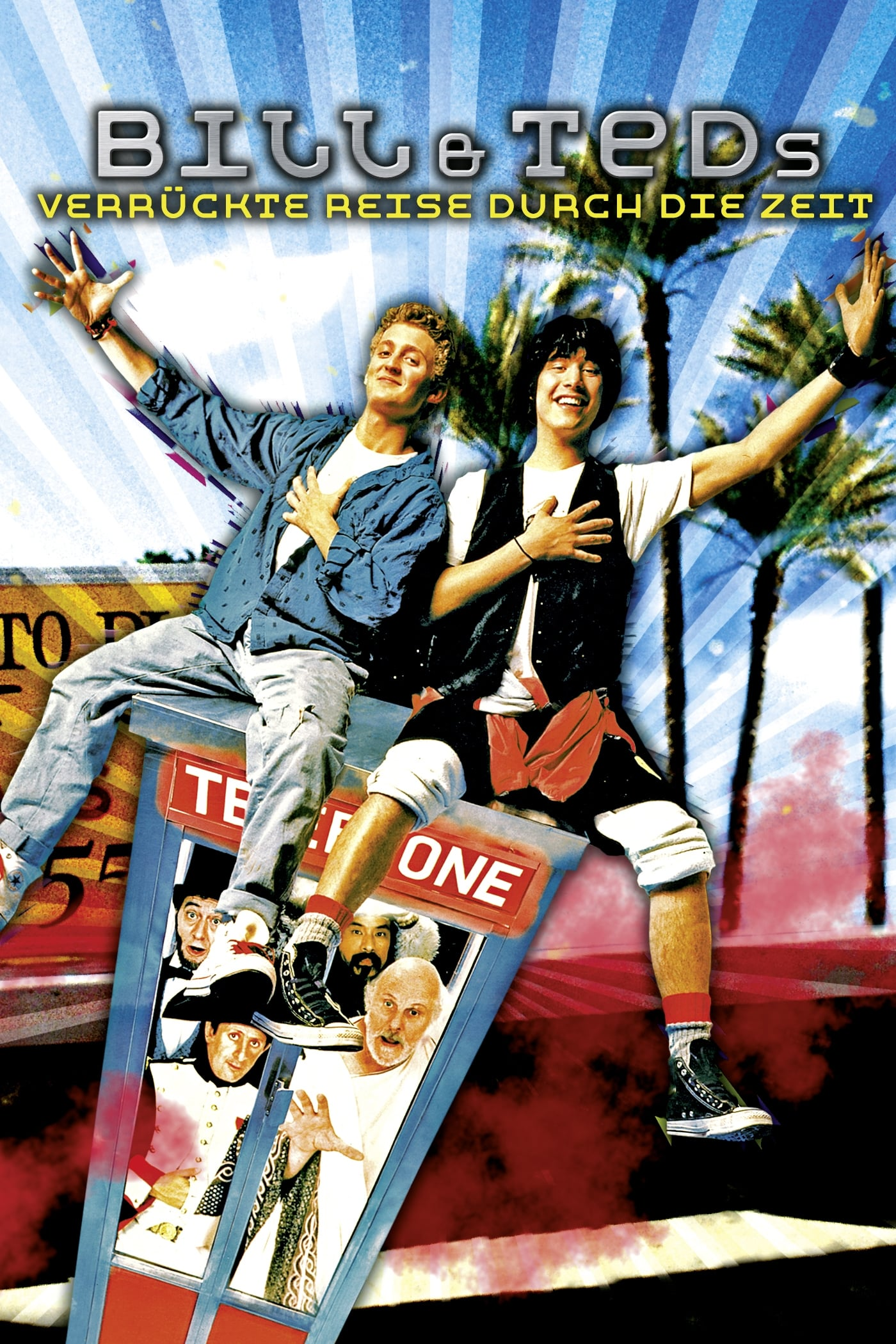 L'excellente Aventure De Bill Et Ted : l'excellente, aventure, L'Excellente, Aventure, (1989), Affiches, Movie, Database, (TMDb)