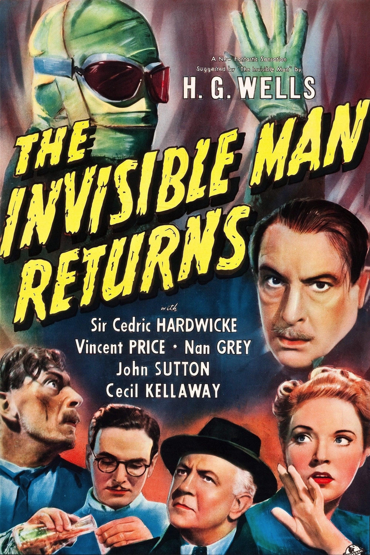 Le Retour De L'homme Invisible : retour, l'homme, invisible, Retour, L'homme, Invisible, (1940), Affiches, Movie, Database, (TMDb)