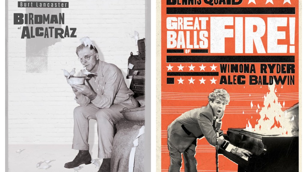 Birdman of Alcatraz & Great Balls of Fire! - Both from Olive Films