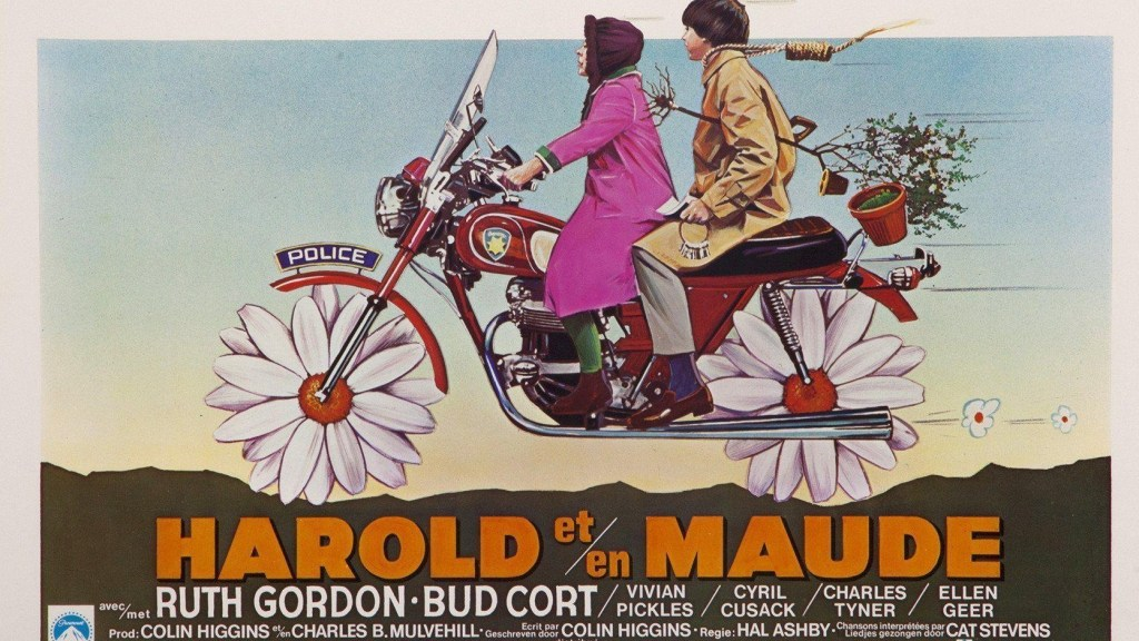 Harold and Maude Original Movie poster