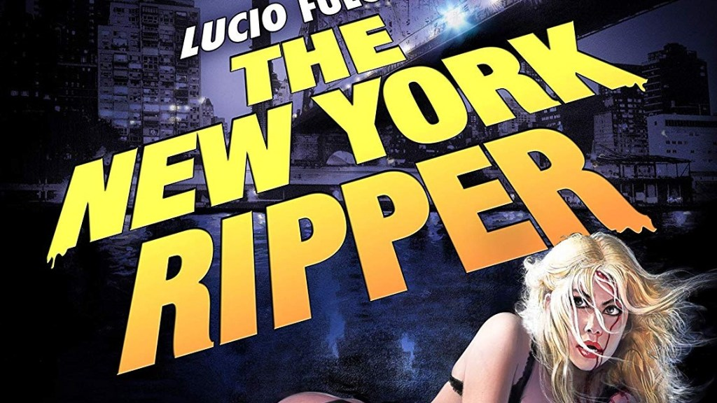 Blue Underground's The New York Ripper