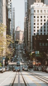 Image of a street in San Francisco.