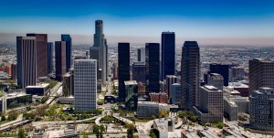 Moving from Chicago to Los Angeles - Image of Los Angeles from the sky.
